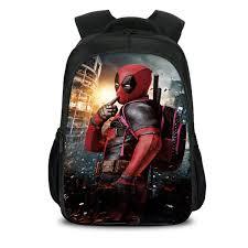 <b>2019 New Fashion Marvel</b> 3D Printed Deadpool 2 Backpack ...
