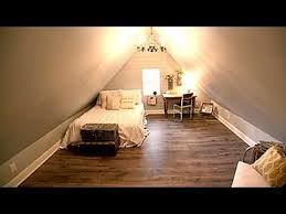 attic living room design youtube: fixer upper attic bedroom design youtube