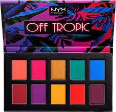 <b>NYX Professional Makeup</b> Off Tropic <b>Палетка</b> теней для глаз ...