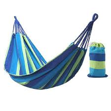 185X100cm Hammock 2 Person Outdoor Leisure Bed Travel ...