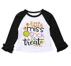 Gogolan <b>Halloween</b> Long Sleeve <b>Pumpkin Printed</b> Ruffles T-Shirt ...
