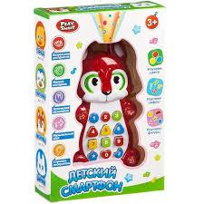 Развивающая игрушка <b>PLAY SMART Детский смартфон</b> - купить ...