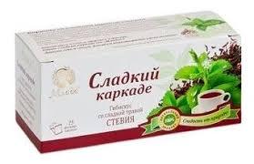 <b>Чай травяной</b> Млада <b>Сладкий</b> каркаде со стевией в пакетиках ...