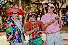 apply for summer staff positions at t bar m camps summer staff counselors and camper work at camp three boys in costume