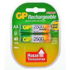 <b>Аккумуляторы GP R6</b> (Ni-MH), тип АА, 2шт. – купить в Москве ...