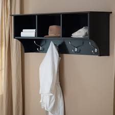 ideas wall shelf hooks: awesome clothes wall hanger ideas for you