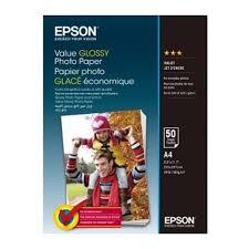 <b>Бумага EPSON</b> C13S400036 <b>Value Glossy</b> Photo <b>Paper</b> A4 50листов