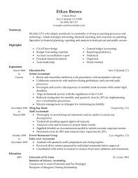 best accountant resume example   livecareeredit