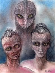 Resultado de imagem para reptilianos na antiguidade