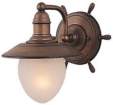 Vaxcel WL25501RC Orleans 1 Light <b>Wall</b> Light, <b>Antique Red</b> ...