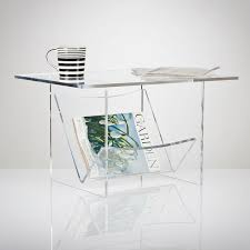coffee table with magazine rack acrylic furniture uk