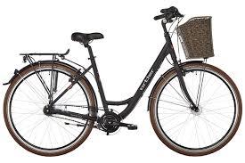black <b>classic Dutch bike</b> HOLLANDER Three-speed Shimano frame ...