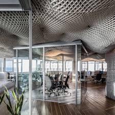 paritzki liani architects creates cloud like ceiling for tel aviv office archaddict archdaily google tel aviv office