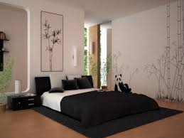decorating cute room black white bedsheet rug brown excerpt bedroom paint combination with dark flooring charming bedroom ideas black white