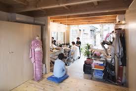 wooden box house small in japan mixes work and home life suzuki architects kawaguchi office humble bahamas house urban office