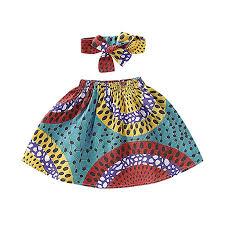 Toddler Kids Baby Girl African Ethnic Style Printed ... - Amazon.com