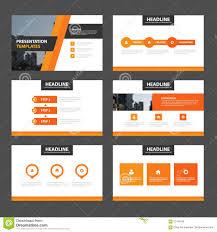 green black minimal presentation templates infographic elements elegance orange presentation templates infographic elements flat design set for brochure royalty stock photos