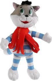 Игрушка мягкая <b>кот Матроскин</b>, 18см, озвученная, <b>Мульти</b>-<b>пульти</b>