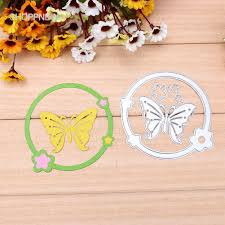 sho  2pcs Butterfly Metal Embossing <b>Cutting Dies</b> | Shopee Singapore