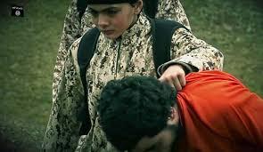 Image result for داعش به کودکان آدم کشی یاد می دهد