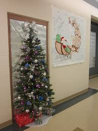 ideas for decorating doors at best office christmas decorations