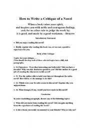 how to write an essay on a novelhow to write an essay on a novel