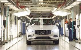 Первые <b>Volvo XC60</b> нового поколения сошли с конвейера завода ...