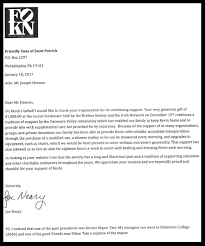 general letters of appreciation the society of the friendly sons kevin neary family letter of appreciation jpg