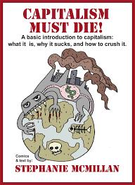 Image result for capitalism kills CARTOON