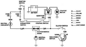electric motor starter wiring diagram   looking for a wiring    honda cb  f hornet electric starter wiring diagram circuit