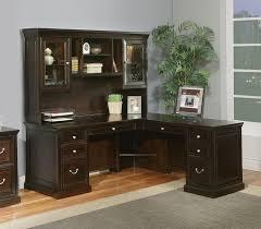 large size of desk superb corner desks with hutch solid wood construction espresso finish l brown solid wood shape home