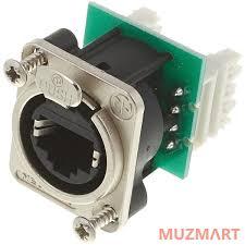<b>Neutrik</b> NE8FDV-Y110 Панельный <b>разъем RJ45</b> для печатного ...