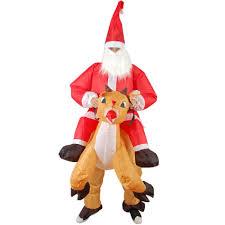 <b>Inflatable Santa</b> Claus <b>Costume Christmas</b>- Buy Online in Brunei at ...