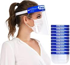 Personal Protective Equipment MKBOO <b>10 PCS</b> Full <b>Face</b> Protect ...