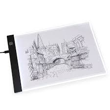 <b>Three Gears Dimmable LED</b> Graphics Tablet Drawing Copy Pad ...