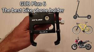 <b>GUB Plus 6</b> - the best phone holder for Xiaomi M365, electric ...