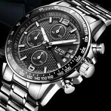 <b>Lige Men's</b> Wristwatches for sale | eBay