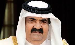Image result for امیر سابق قطر: