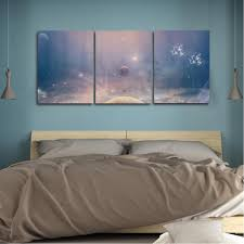 <b>Laeacco 3 Panel</b> Dream Space Posters and Prints Modern Home ...