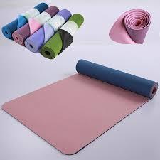 <b>183*61*0.6CM TPE Yoga</b> Mat Pad <b>Non slip</b> Slimming Exercise ...
