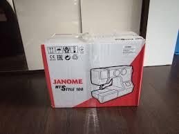 Обзор от покупателя на <b>Швейная машина Janome My</b> Style 100 ...