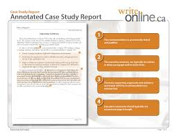 casestudy annotatedfull page png write online case study report writing guide parts of a case study writeonline ca