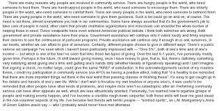 free community service essay example   essay hearing whence the essay about community service of deceives
