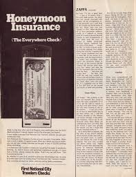 life well known is reprint by bizarre records as 6 page promotional foldout the essay was also included into anthology america and its discontents 1971