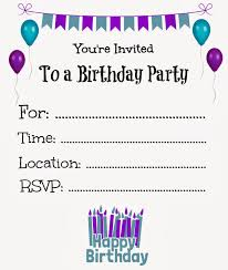 birthday party invitation templates drevio invitations design birthday invitation templates iidaemilia com templates for birthday invitations