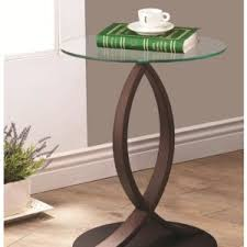 home furniture corner table design concept come with wooden curves frames and brown rounded base alluring small home corner