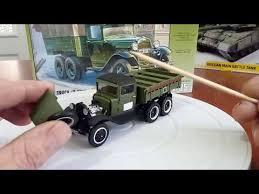 <b>Сборная модель Советский</b> армейский трехосный грузовик (ГАЗ ...