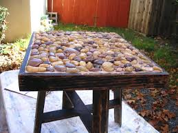 How To Build A Dining Room Table Rustic Stone Table Living Room And Dining Room With Regard To How