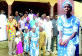 Image result for A'Ibom community to immortalise 90-year-old virgin