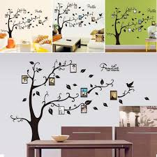 wall decal family art bedroom decor family tree removable wall sticker black vinyl decal art decal diy room decor